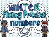 Winter Fluency Practice {Numbers 0-100}