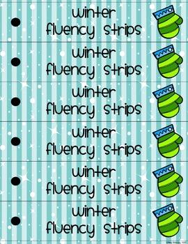 Winter Fluency Strips