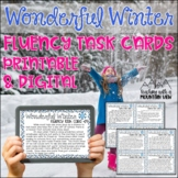 Winter Fluency Task Cards