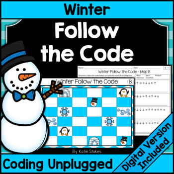 Winter Follow the Code (Coding Unplugged)