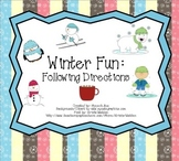 Winter Fun: Following Directions