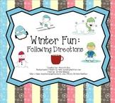 Winter Fun: Following Directions