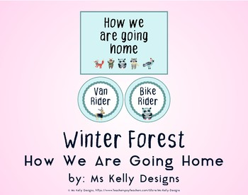 Winter Forest How We Are Going Home System