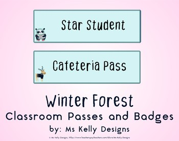 Winter Forest Passes and Badges