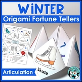 Winter Speech Therapy: Fortune Tellers