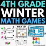 Winter Fourth Grade Math Puzzles