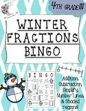 Winter Fractions Bingo!
