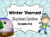 Fraction Centers {Winter Themed}