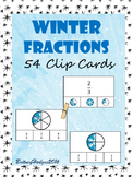 Winter Fractions Clip Cards