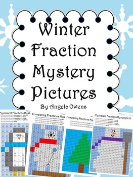Winter Fractions Mystery Pictures
