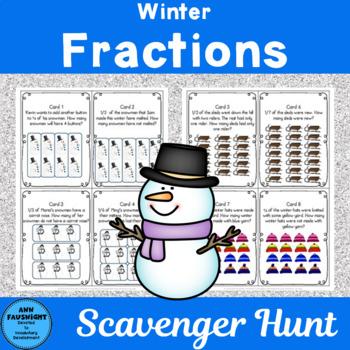 Winter Fractions Scavenger Hunt