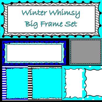 Winter Whimsy Frame Bundle