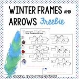 FREEBIE Winter Frames and Arrows, 1 rule