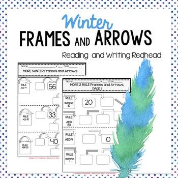 Winter Frames and Arrows: Second Grade Math