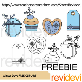 Winter Free Resource Clipart