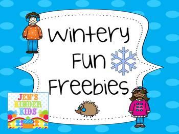 Winter Freebie!