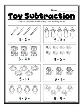 FREE December Math and Literacy Printables