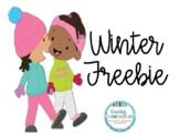 Winter Freebie
