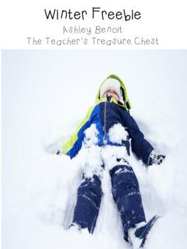 Winter Freebie: The Mitten