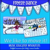 Winter Freeze Dance