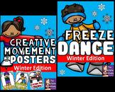 Winter Freeze Dance and Creative Movement