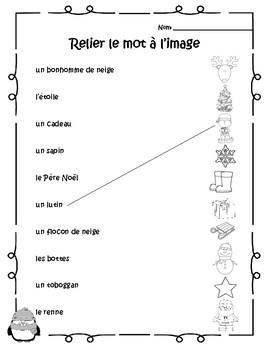 Winter French Unit Plan