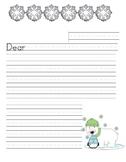 Winter Friendly Letter paper