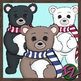 Winter Friends: Bears