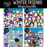 Winter Friends Clipart Bundle {Creative Clips Clipart}