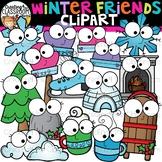 Winter Friends Clipart {Fall Clipart}