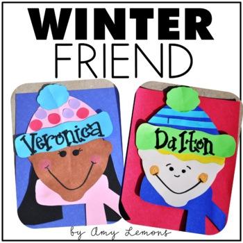 Winter Friends Writing Craftivity