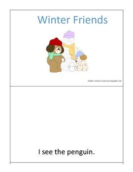 Winter Friends Interactive Book