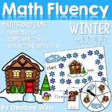 Math Fluency:  Winter Editable