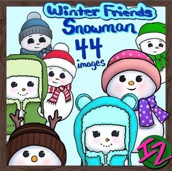 Winter Friends: Snowman Pack