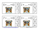Winter Friends of 10 Addition Clip Cards
