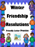 Friendly Letter Writing Practice