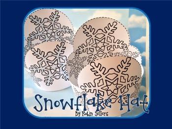 Winter {Frozen Snowflake Hat Craft}