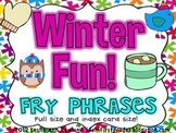 Winter Fry Phrases