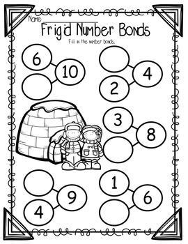 Winter Fun- No Prep Printables