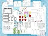 Winter Fun - A Little Math, Reading, & Writing