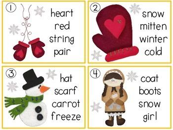 Winter Fun ABC Order
