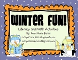 Winter Fun!  Activities for Literacy and Math