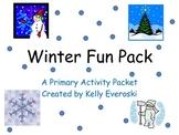 Winter Fun Activity Pack