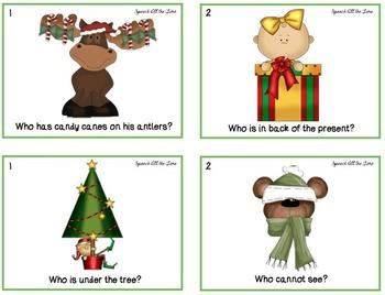Winter Fun -- Answering Wh-Questions & Describing