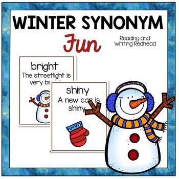 #2017DollarDeals - Winter Fun Synonyms - Color Version