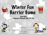 Winter Fun Barrier Game
