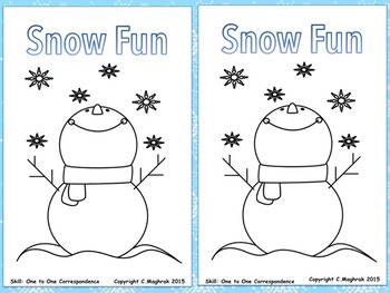 Winter Fun  Beginning Readers and Sight Word games