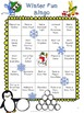 Winter Fun Bingo Game