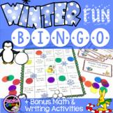 Winter Fun Bingo Game