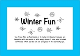 Winter Fun! Book Activity